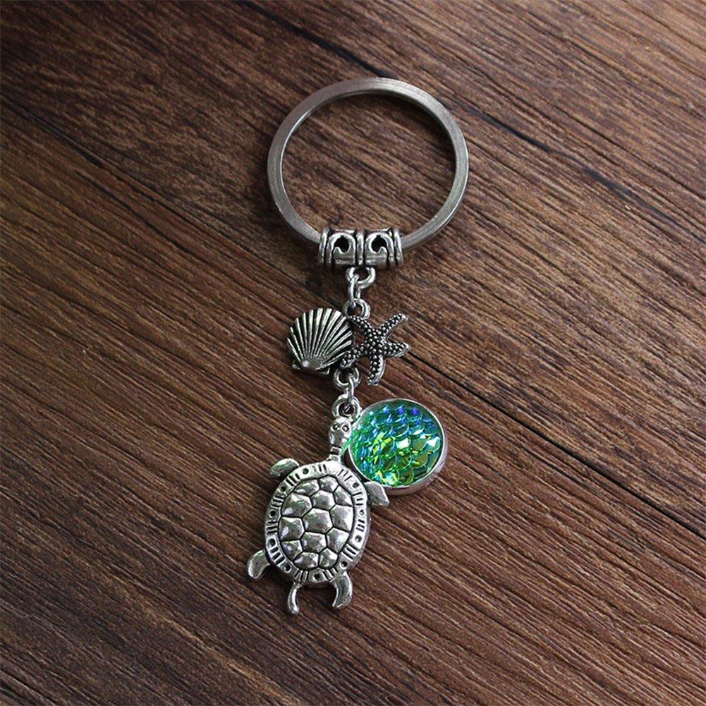 Amazon.com: Zentto Turtle con llavero de estrella de mar ...