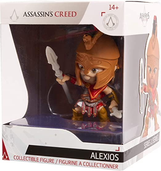 Amazon Com Ubisoft Creed Collection 3 Figures Alexios Action