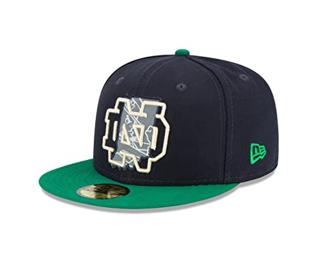 new style b0767 3adf6 ... wholesale ncaa notre dame fighting irish state flective redux 59fifty  fitted cap 7 blue 2cc7a fb97d