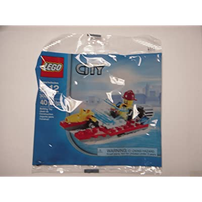 Lego City Set 30220 Fire Boat (Polybag): Toys & Games
