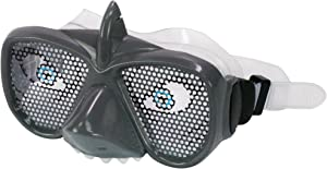 Narly Noggins 3D Mask Shark Goggles, Grey