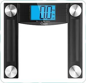 Ozeri Ozeri Promax 560 Lbs / 255 Kg Bath Scale, Black
