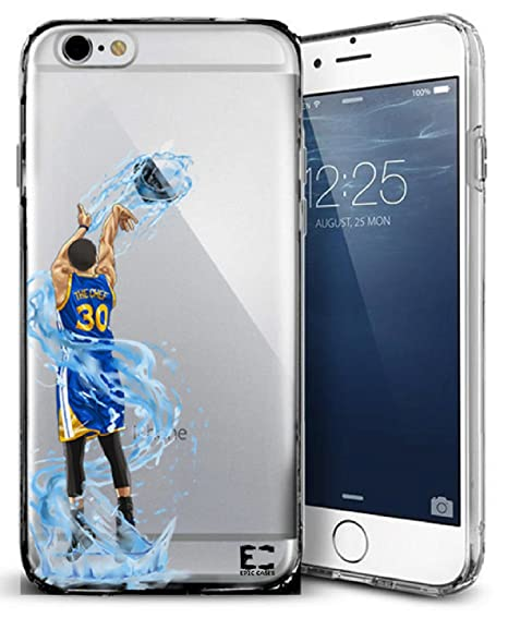size 40 70d4a 0a941 Epic Cases iPhone Case Dominate the Court Series, The Chef, Clear (iPhone 6)