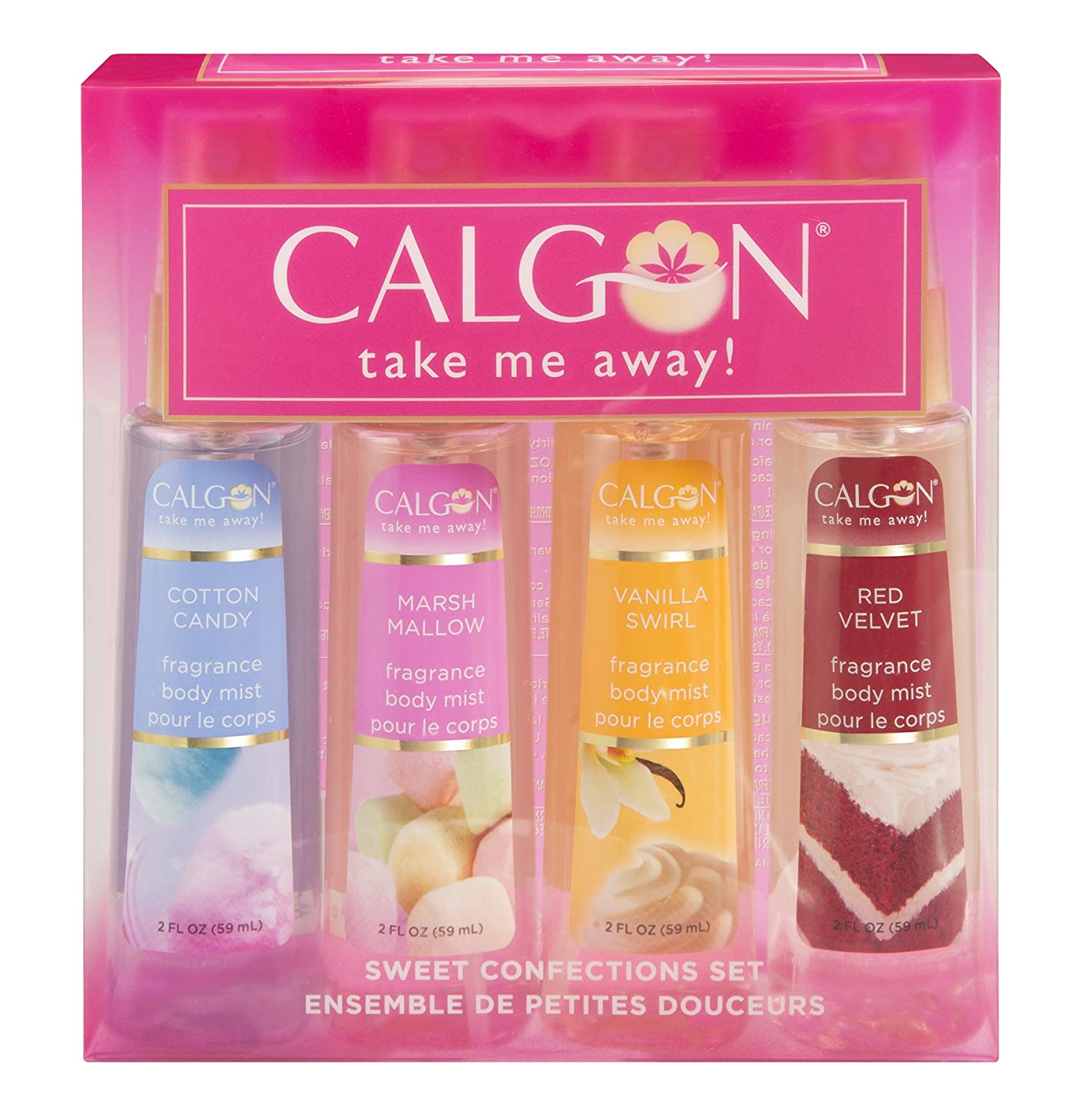 Calgon gift set sweet confections body mist, 239 Milliliter PDC Brands 031655535081