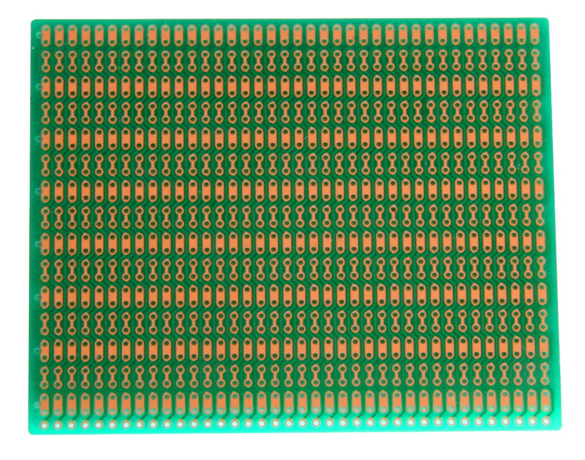 Bb2x2 Busboard Pattern Pcb Size2 100x80mm Zig Zag Busses Amazon 10 Pcs 50mmx70mm Single Side Copper Cover Circuit Board Stripboard Industrial Scientific