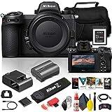 Nikon Z 6II Mirrorless Digital Camera 24.5MP (Body Only) (1659) + 64GB XQD Card + Corel Photo Software + Case + HDMI Cable +
