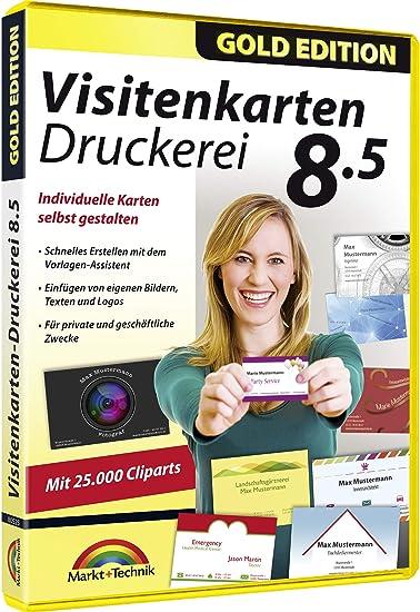 Visitenkarten Druckerei 8 5 Professionelle Visitenkarten Gestalten Und Drucken Für Windows 10 8 1 8 7