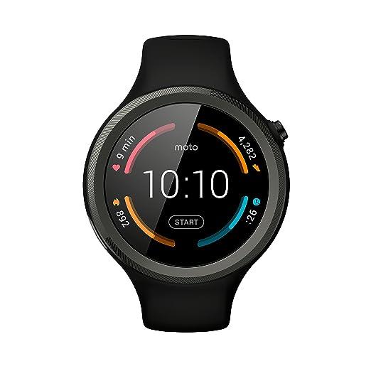 49 opinioni per Motorola Moto 360 Sport (2a generazione), Smartwatch, Nero