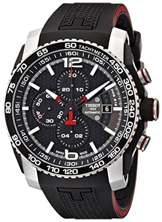 Amazon.com  Tissot Men s T0794272705700 PRS 516 Stainless Steel ... fc6c875b430c