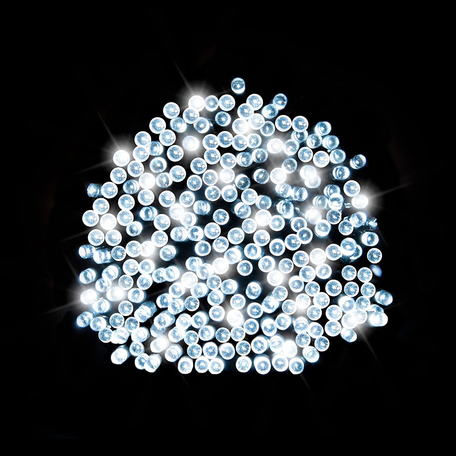 200 Bright White LED Solar Fairy Light [Energy Class A+++] SPV Lights