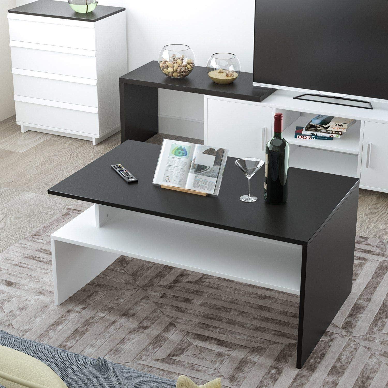 Generic Table Basse de avec /étag/ères pour Salon TV
