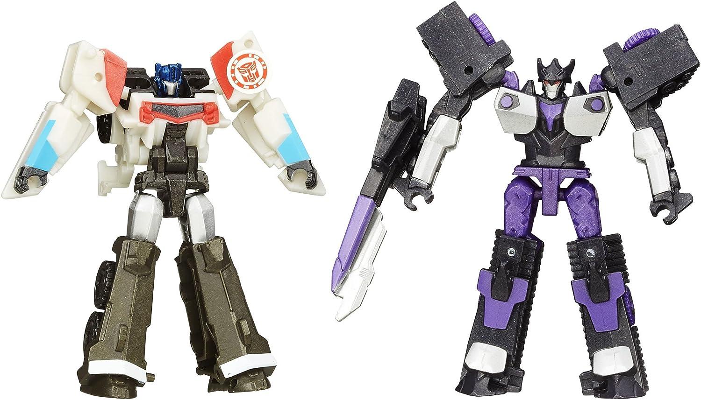 Transformers 2015 RID Robots Indy exploracioen Guys accidente del paquete de Transformers Regioen Clase 2 robots Optimus Prime VS Megatoronasu / TF transformadores en DISGUISE CHOQUE de los transformadores Legioen Optimus Prime
