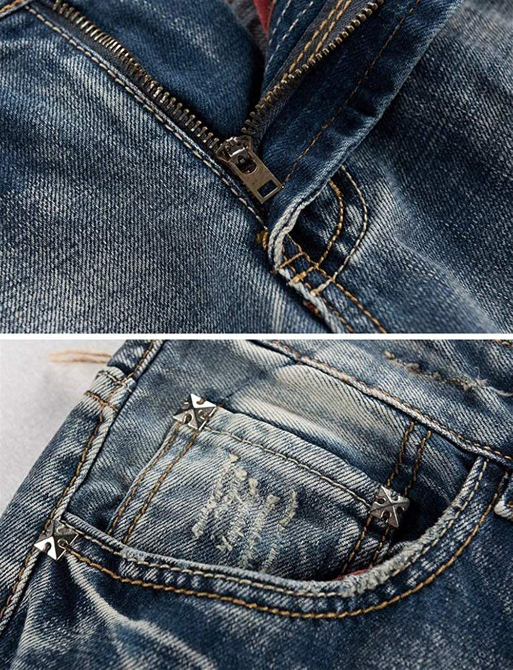 Anaisy Vintage Vintage Rasgados Agujeros Cher Jeans Stretch Motocicleta Jeans Denim Pantalones Pantalones Joven Pantalones