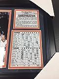 11X14 FRAMED 1984 DETROIT TIGERS WORLD SERIES