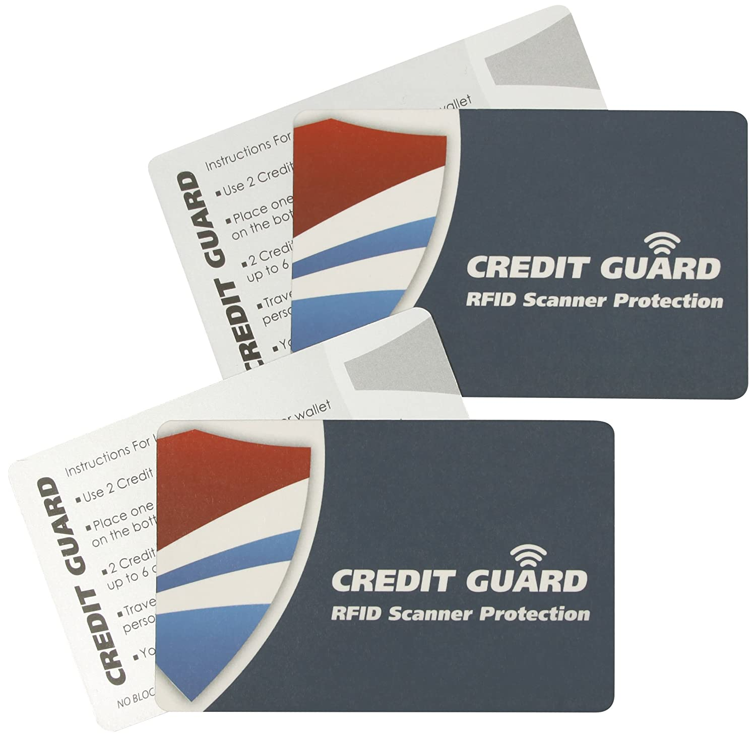 credit guard rfid scanner blocking cards set of 4