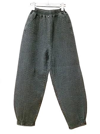 Amazon.com: Men Women Quilted Pants, Winter Pants, Buddhist Zen ... : mens quilted pants - Adamdwight.com