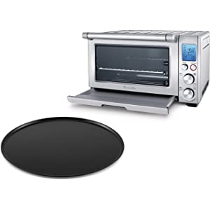 Breville BOV800XL Reinforced Stainless Steel Smart Oven with 13 Inch Pizza Pan