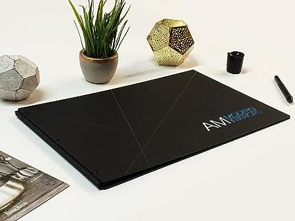 Amazon com : 11x17 Landscape Matte Black Portfolio with