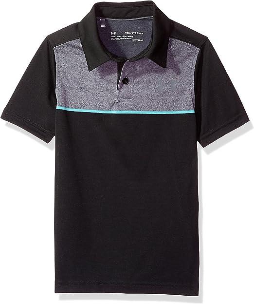 Under Armour Boys Youth Thread Borne Polo Shirt
