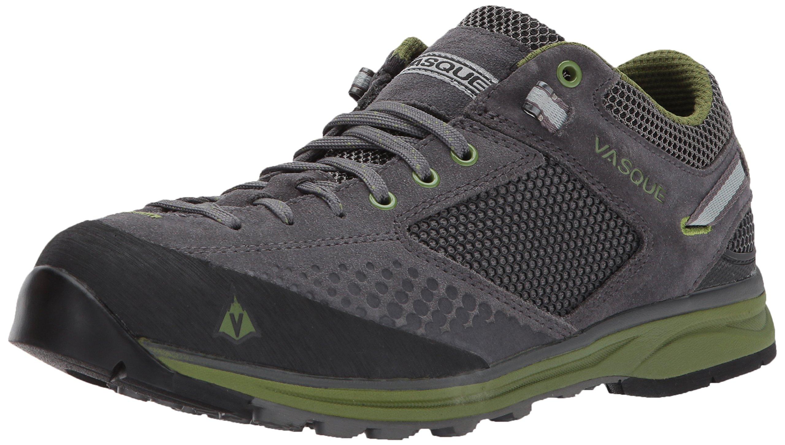 Vasque Men's Grand Traverse Hiking Shoe, Magnet/Pesto, 12 M US
