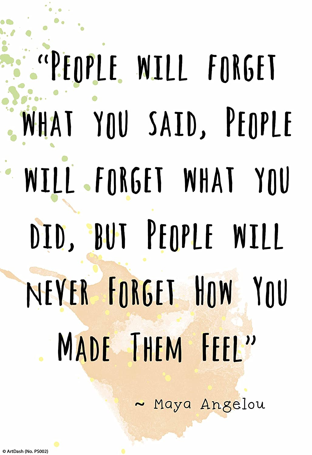 remember how you made them feel
