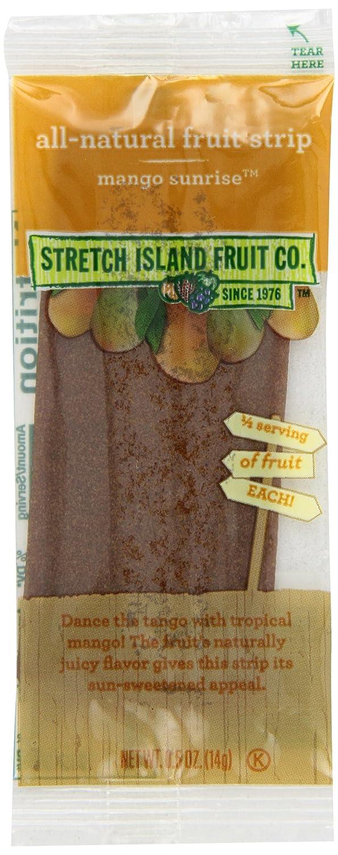 Stretch Island Original Fruit Leather, Mango, 0.5-Ounce Bars (Pack of 30)