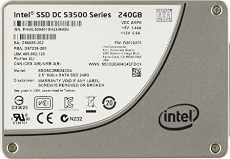 Intel SSDSC2BB240G401 - Disco Duro sólido Interno SSD de 240 GB ...