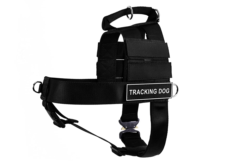 Dean & Tyler DT Cobra Tracking Dog No Pull Harness, Medium, Black