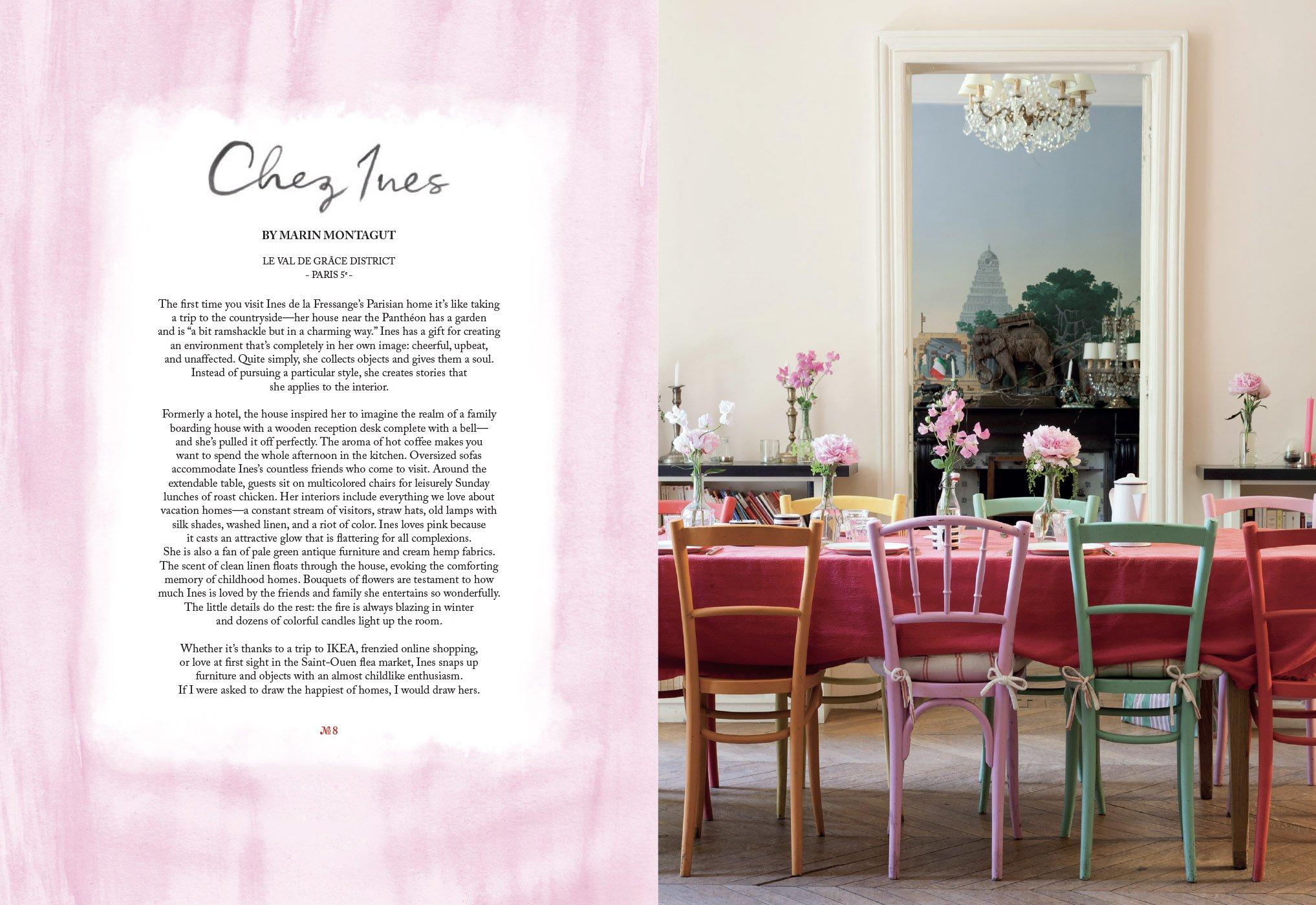 Maison: Parisian Chic at Home: Ines de la Fressange, Marin Montagut, Claire  Cocano: 9782080203670: Amazon.com: Books