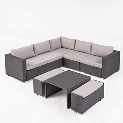 Amazon.com: Great Deal Furniture Valentina Juego de sofá de ...