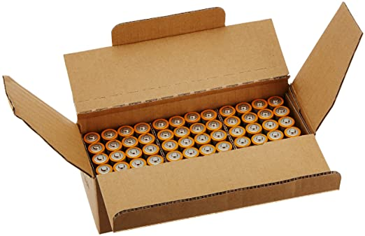 AmazonBasics AA Performance Alkaline Batteries (48 Count)