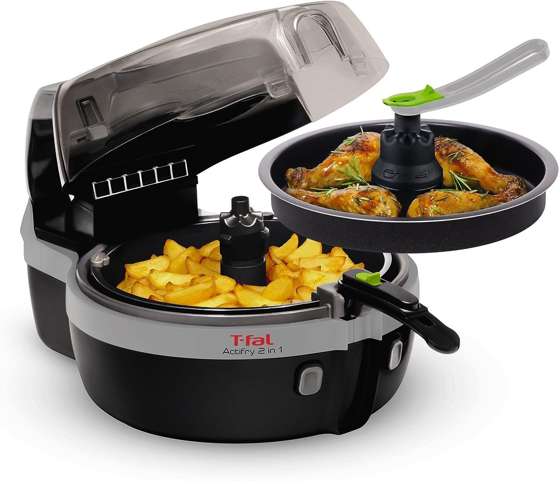 Tefal Actifry YV960120 - Freidora 2 en 1 para cocina sana, 2 zonas ...