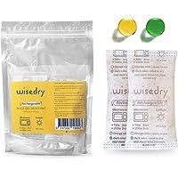 50 Gram [4PACKS] Silica Gel Packets Droogmiddel Herbruikbaar met Magnetron Snel Heractiveerd in 2 minuten & Oranje tot…