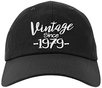Cap 1979 40th Birthday Gift Vintage Aged To Be Perfected Since Baseball Hat