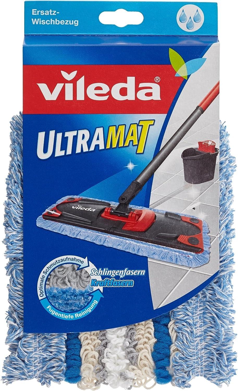 VILEDA Wischbezug Ultramat extra feucht Bodenwischer Wischlappen Wischer Mop