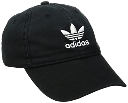 5bcb7883140 Image Unavailable. Image not available for. Color  adidas Men s Originals  Relaxed Strapback Cap ...