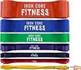 Iron Core Fitness 48 HOUR SALE!! Assisted Pull up Bands | Resistance Bands for Strength & Power Training, Crossfit Mobility & Gym work | Stretching, Therapy, Yoga, Distraction, Flexibility & Pullups