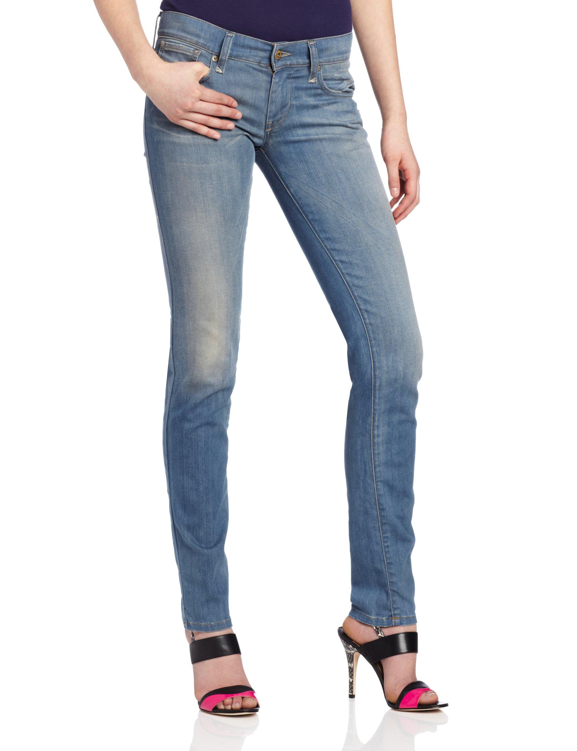 Diesel Women's Getlegg Slim Skinny Leg Jean 0821E, Denim, 29x32 by Diesel (Image #1)