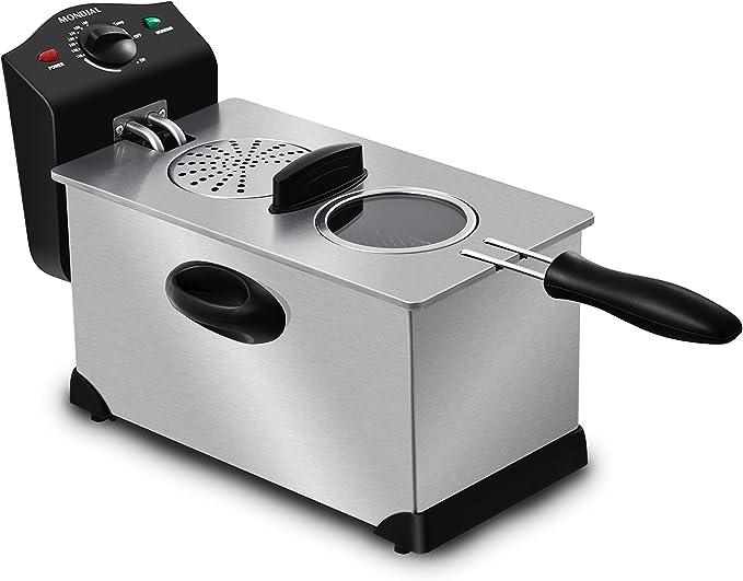 Mondial Premium Fryer Freidora, 2000 W, 3.5 litros, Acero ...