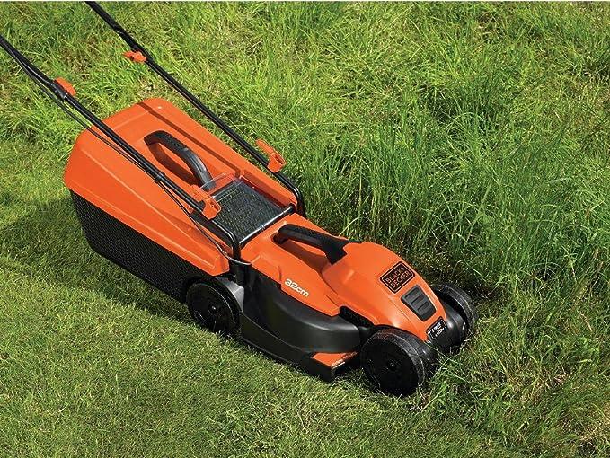 Black+Decker EMAX32S-GB - Cortacésped (tamaño: 32cm, 1200 vatios ...
