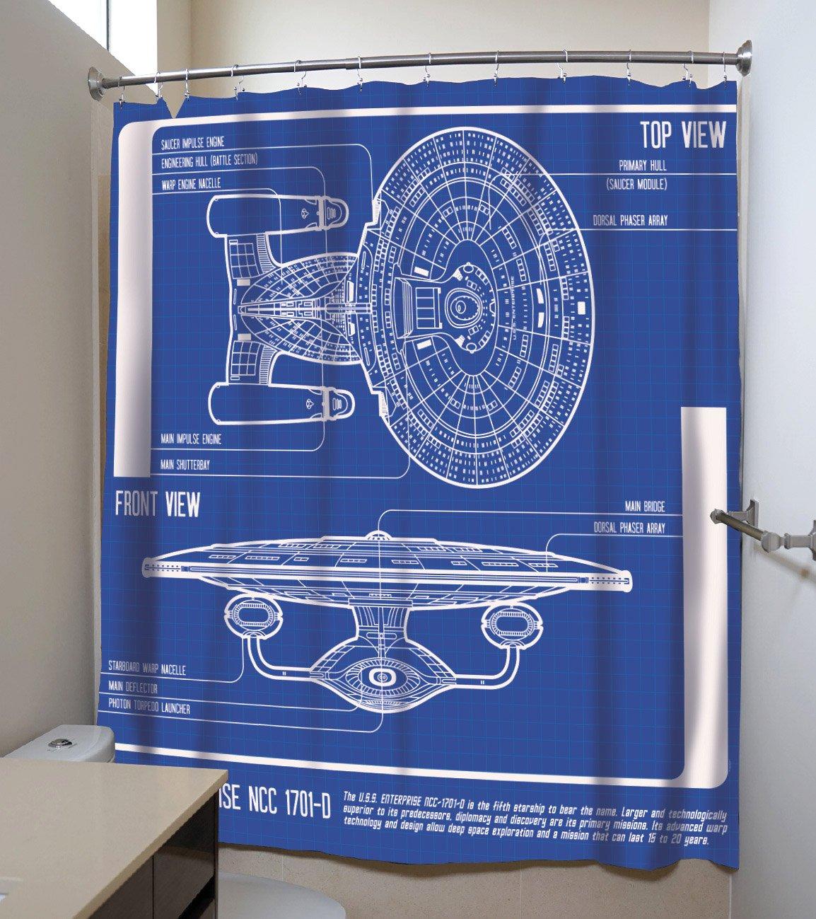 Amazon.com: Officially Licensed Star Trek: The Next Generation U.S.S ...