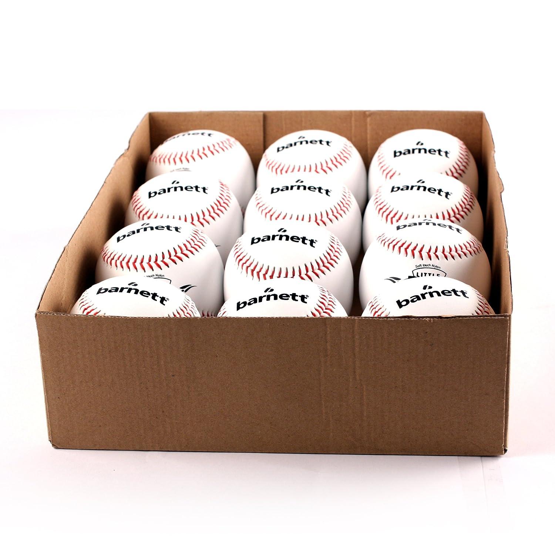 barnett OL-1 palla da baseball gara', t 9'', c bianco 1 dz t 9''