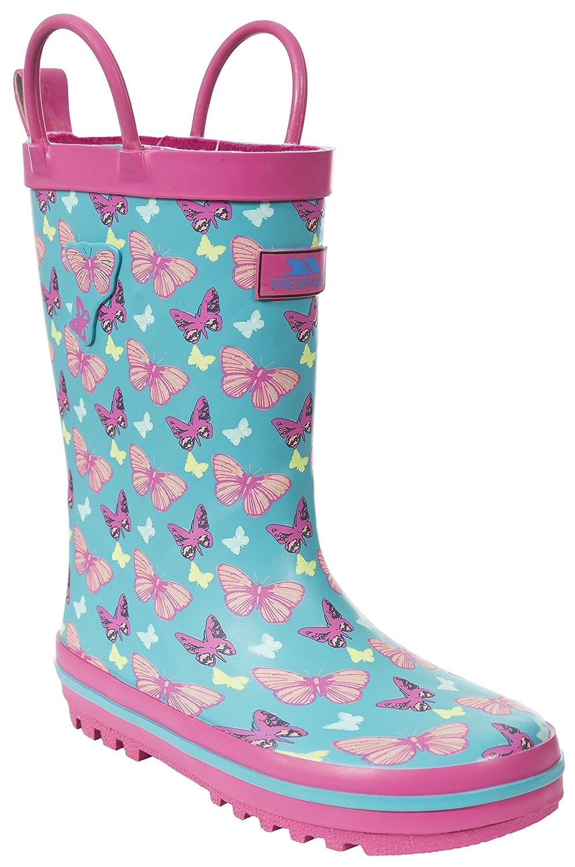Girls/' Wellington Boots Trespass Butterflie