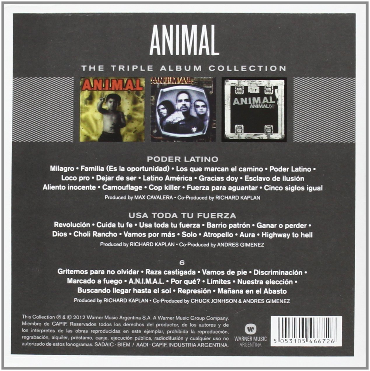 A N I M A L  - Triple Album Collection - Amazon com Music
