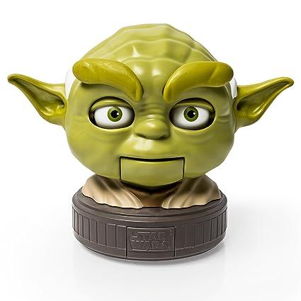 amazon com star wars jedi talker yoda toys games