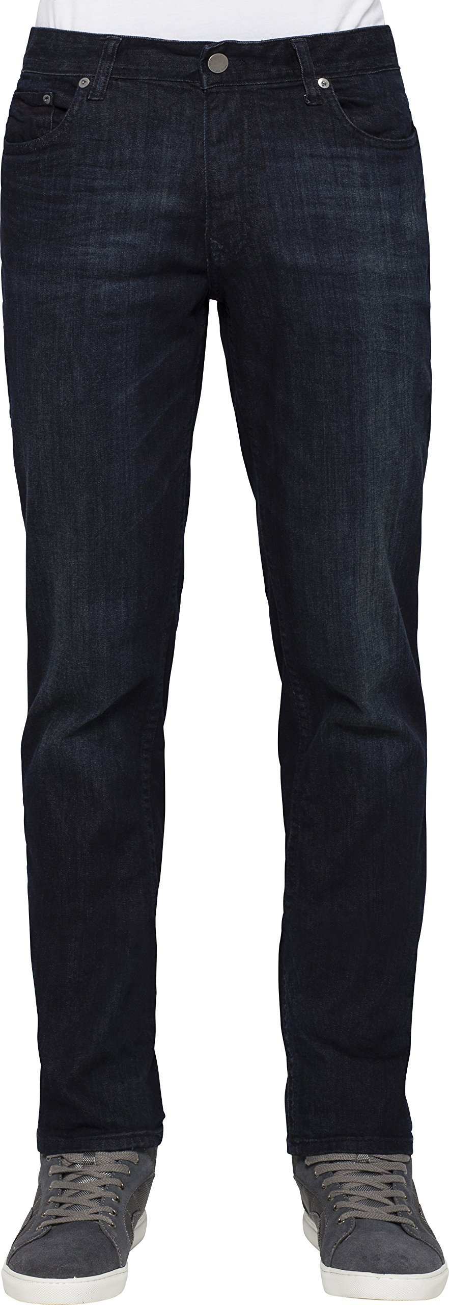 Calvin Klein Jeans Men's Slim Straight Leg Jean In Osaka, Osaka Blue, 32x30 by Calvin Klein