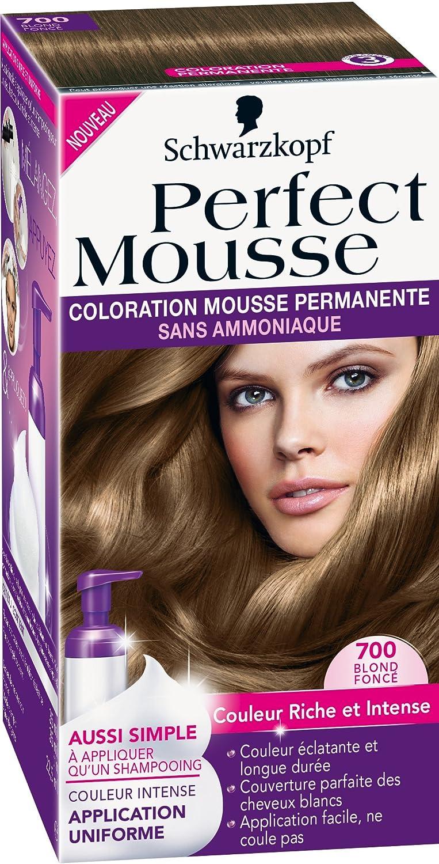Top Schwarzkopf - Perfect Mousse - Coloration Permanente - Blond Foncé  YE02