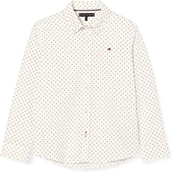 Tommy Hilfiger Mini Flag Shirt L/S Camisa para Niños