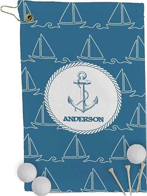 Cuerda Sail barcos toalla de Golf – Full Print (personalizado)