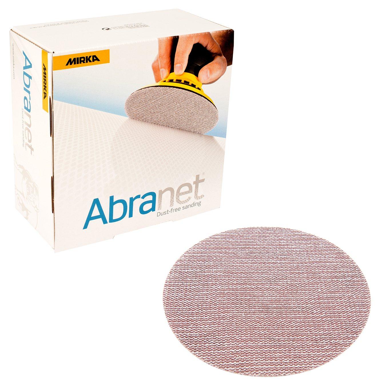 Mirka 9A-241-120   6-Inch 120 Grit Mesh Abrasive Dust Free Sanding Discs,  Box of 50 Discs by Mirka